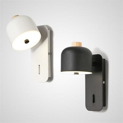 Светодиодный настенный светильник с поворотным плафоном STILLE - фото 10514