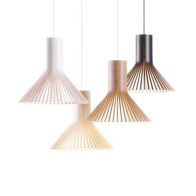Светильник в эко-стиле из деревянных ламелей PUNKTO1 - фото 8429
