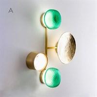 Дизайнерский настенный светильник в стиле постмодерн SHIELD