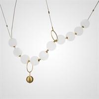 Дизайнерский светильник из стеклянных шаров COCO