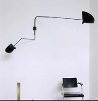 Скандинавские креативные, Ретро вращающиеся, настенные светильники для гостиной