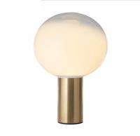 Скандинавская стеклянная, шариковая, настольная лампа