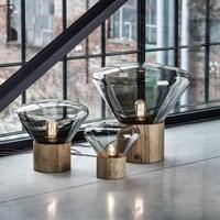 Скандинавский Чешский дизайн, настольная лампа Brokis Muffins, деревянная простая индивидуальная художественная декоративная стеклянная Светодиодная настольная лампа для гостиной, спальни для учебы