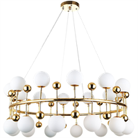 Люстра Milk Bubble Ring Chandelier
