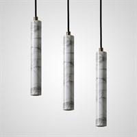 Подвесной светильник из мрамора