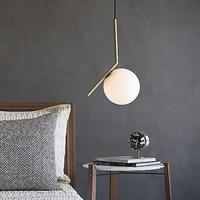Светильник Flos IC Lighting S Gold Pendant Lamp by Michael Anastassiades
