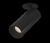 Светильник потолочный поворотный, серия MJ-2037, черный