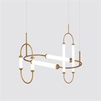 Дизайнерский светодиодный подвесной светильник